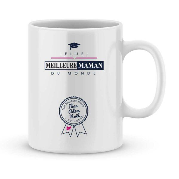 Mug personnalisé avec un prénom meilleure maman