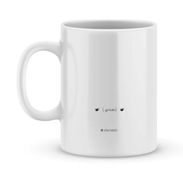 Mug personnalisé avec un prénom super mamie