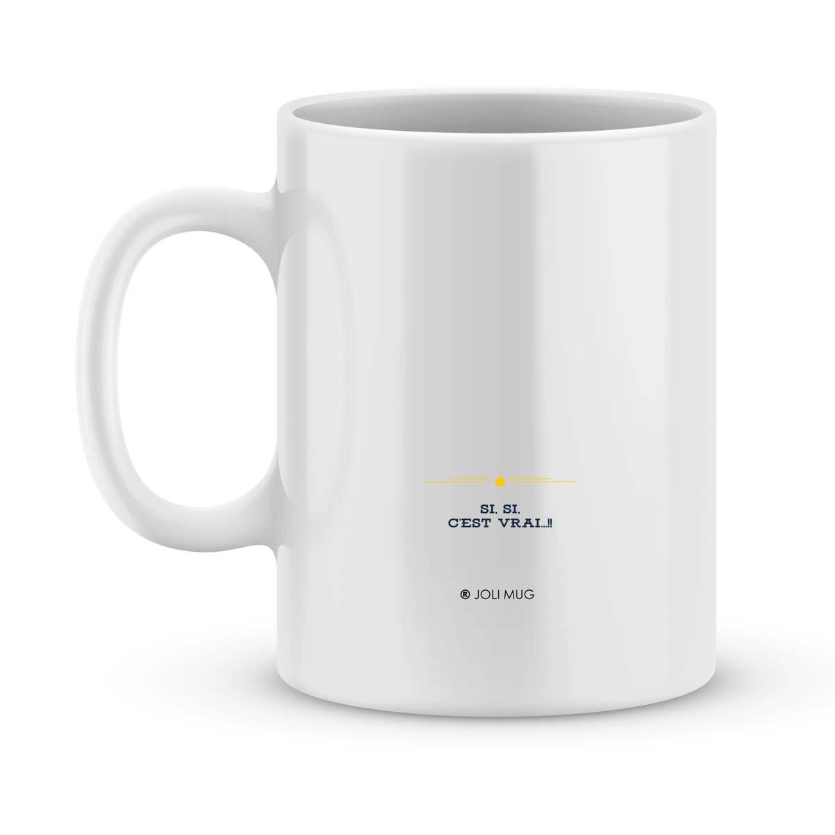 mug personnalis avec un pr nom mon papa est parfait joli mug. Black Bedroom Furniture Sets. Home Design Ideas