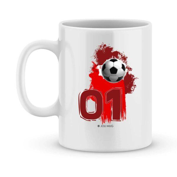 Mug personnalisé avec un prénom foot Dijon