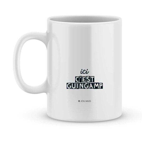 Mug personnalisé avec un prénom foot Guingamp