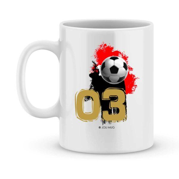 Mug personnalisé avec un prénom foot Nice