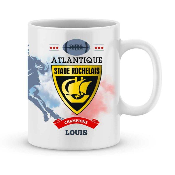 Mug personnalisé rugby top 14 Stade Rochelais