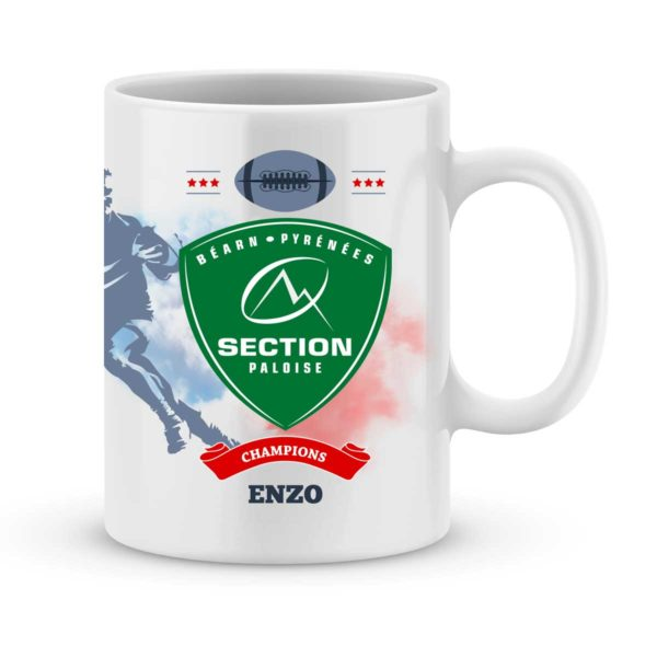 Mug personnalisé rugby top 14 Section Paloise