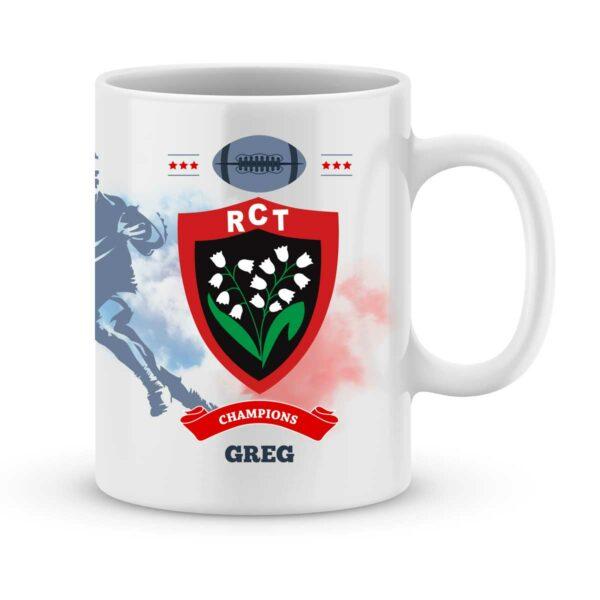 Mug personnalisé rugby top 14 Rugby Club Toulonnais