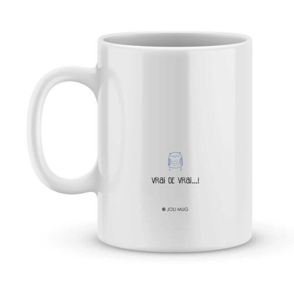 Mug personnalisé avec un prénom le plus chouette des maîtres