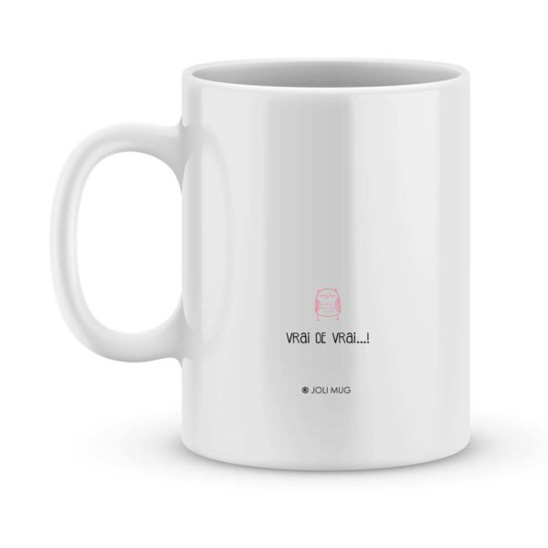 Mug personnalisé avec un prénom la plus chouette des maîtresses