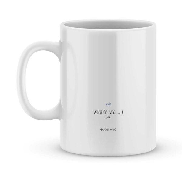 Mug personnalisé avec un prénom meilleur maître de la terre