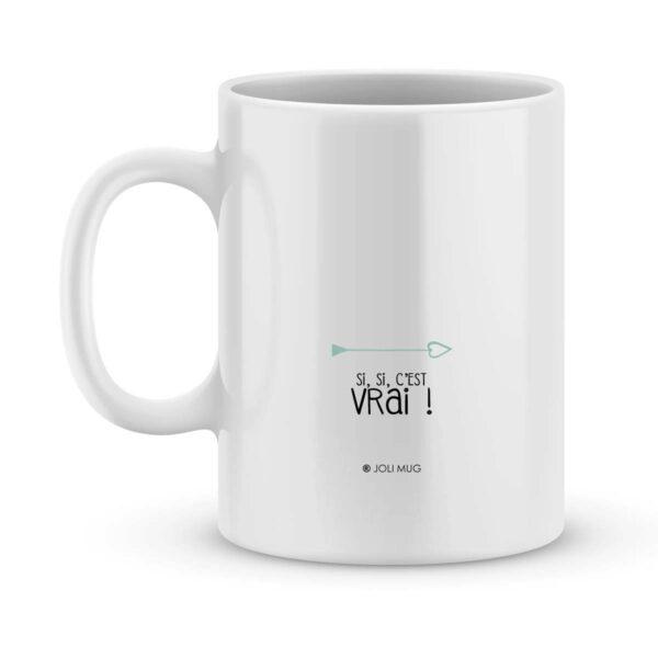 Mug personnalisé avec un prénom the best in the world (de ma fille)