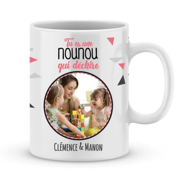 Cadeau nounou mug nounou qui déchire - Idée cadeau nounou