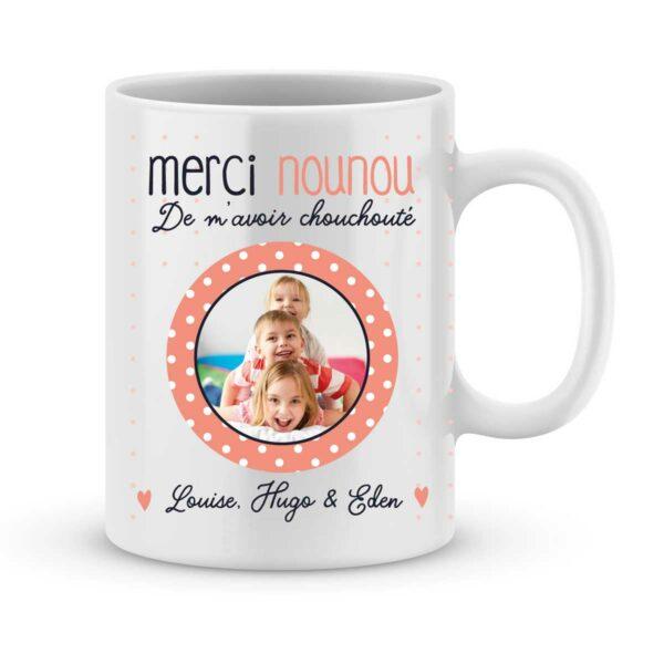 Cadeau nounou mug merci nounou - Idée cadeau nounou