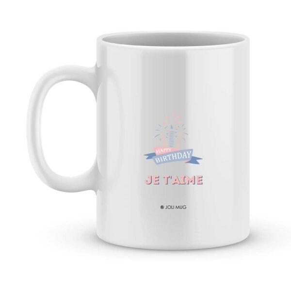 Cadeau anniversaire mamie d'amour - Mug personnalisé photo