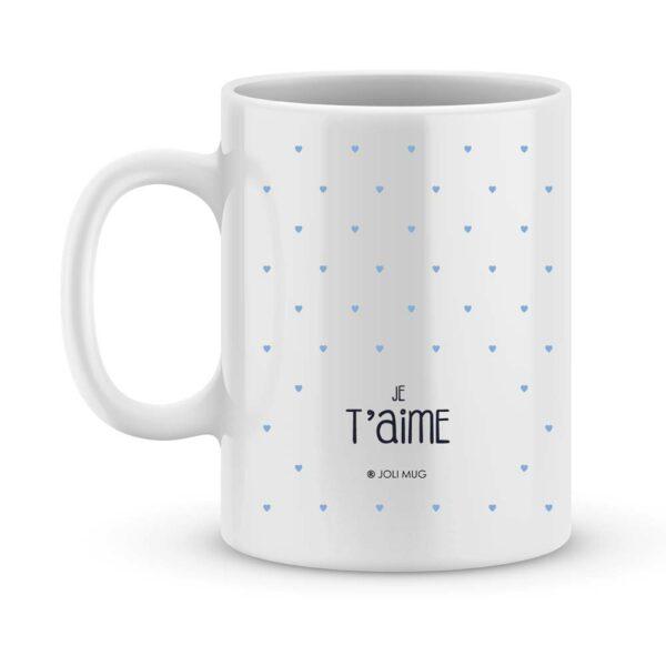 Cadeau bonne fête papy câlins - Mug photo & prénom