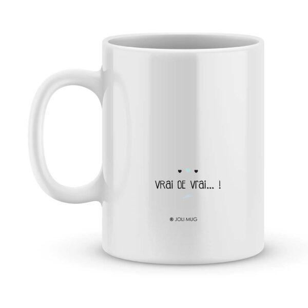 Cadeau papy c'est le plus génial - Mug personnalisé prénom