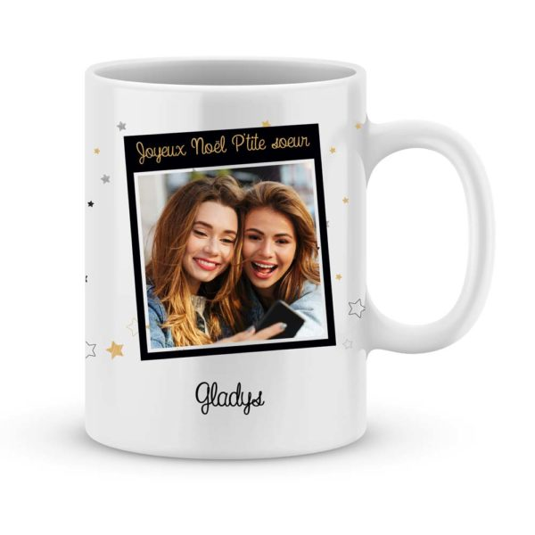 Choisis ta plus belle photo et illustre ce mug en souvenir de supers moments !