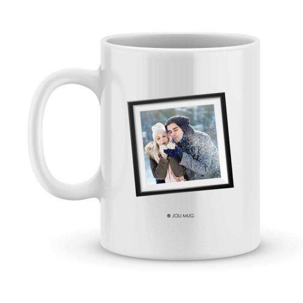Cadeau personnalisé. Mug happy new year avec photo