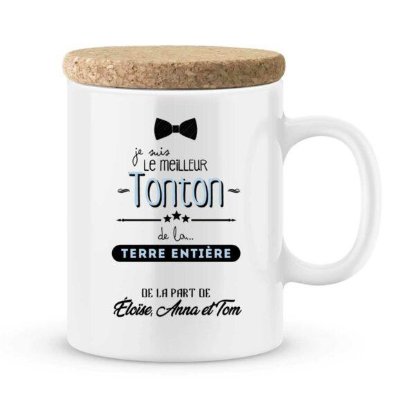 Cadeau tonton I Mug personnalisé avec prénom meilleur tonton