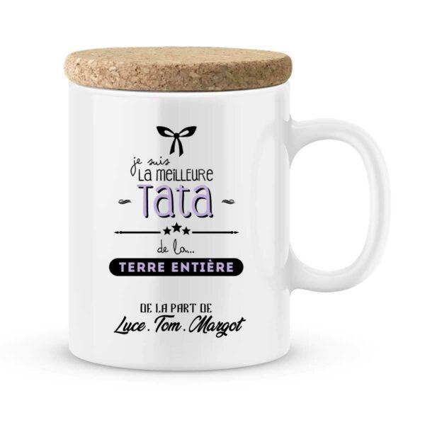 Cadeau tata I Mug personnalisé avec prénom meilleure tata