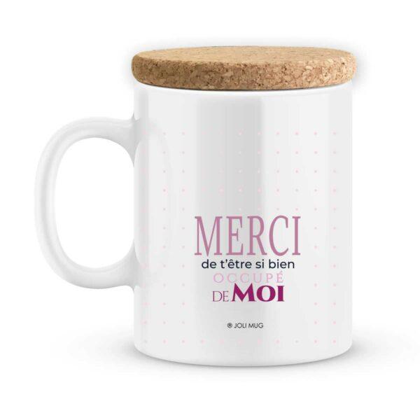 Cadeau nounou. Mug personnalisé nounou tu es parfaite avec prénoms