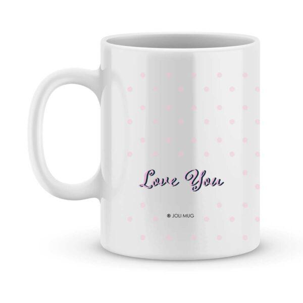 Cadeau bonne fête mamie d'amour - Mug personnalisé photo