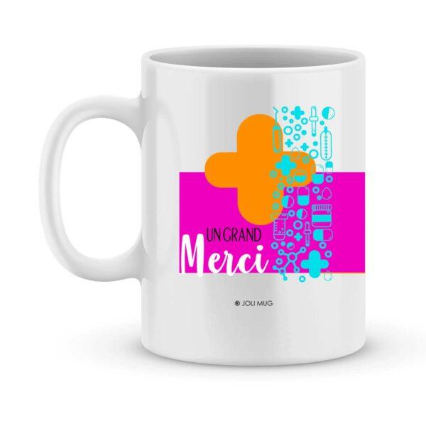 Cadeau médecin - mug personnalisé pour médecin modèle femme