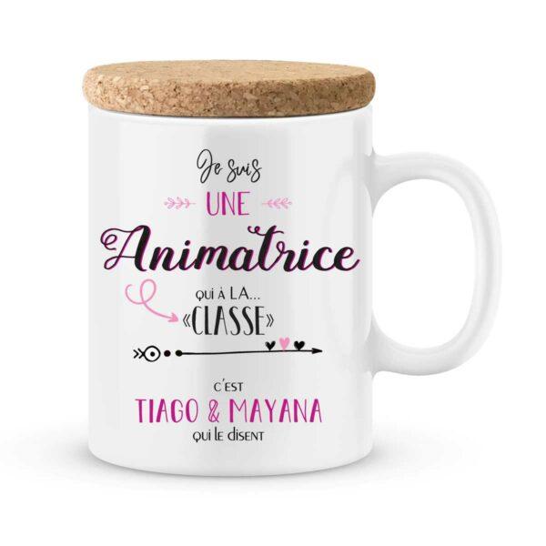 Cadeau animatrice I Mug personnalisé une animatrice qui a la classe