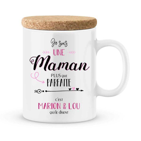 Cadeau maman | Mug personnalisé maman plus que parfaite
