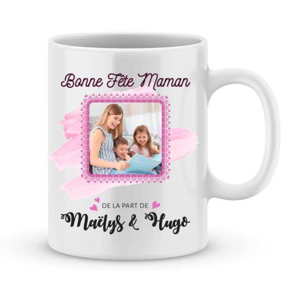 Cadeau fête des mères | Mug personnalisé photo bonne fête maman