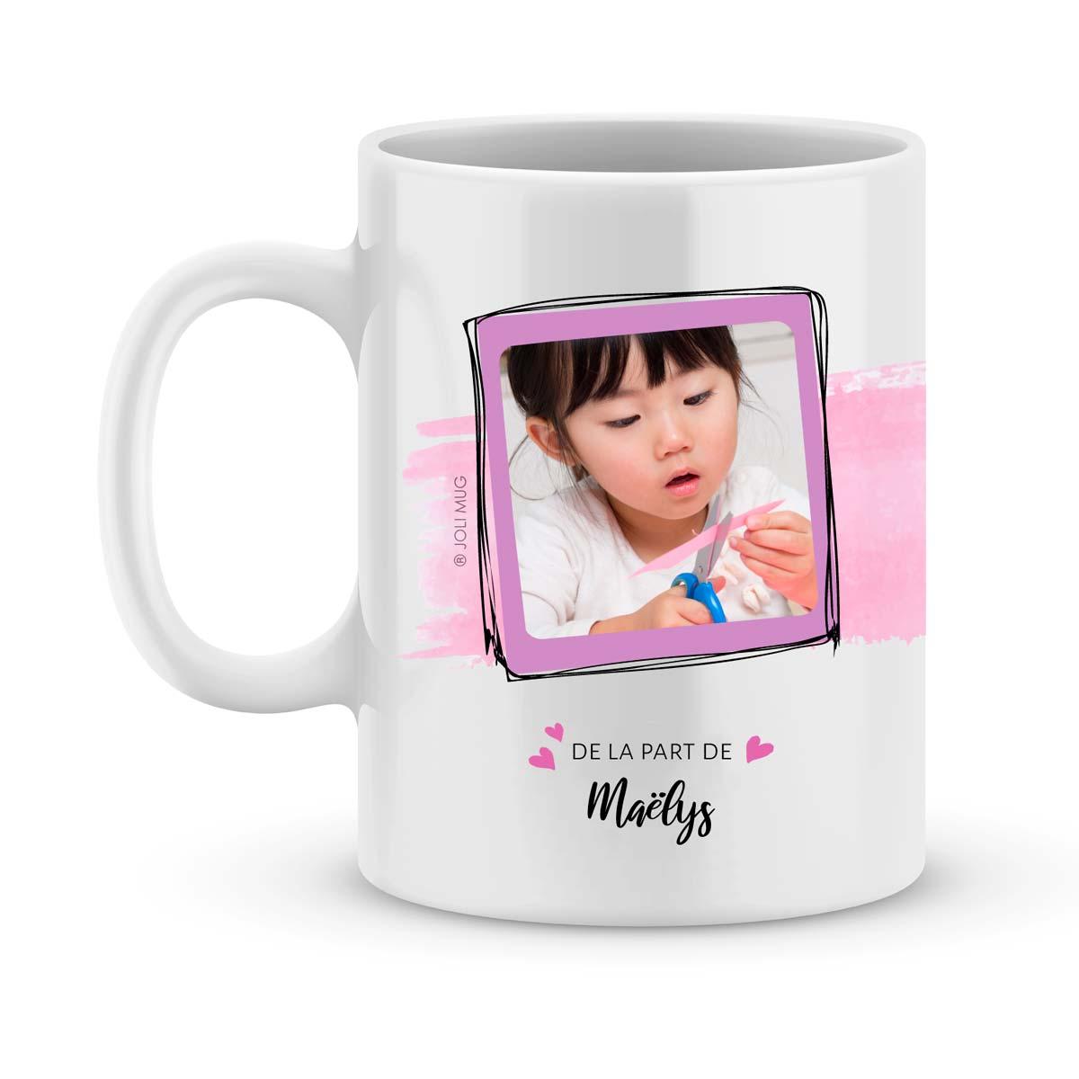 Cadeau maman | Mug personnalisé je ne pourrais pas t'aimer davantage