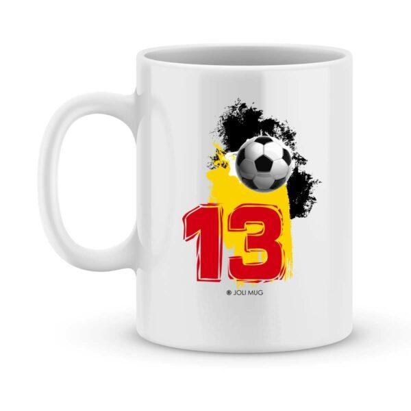 Mug personnalisé avec un prénom foot Lens