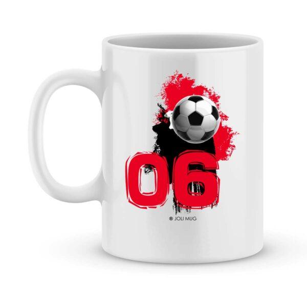 Mug personnalisé avec un prénom foot Reims