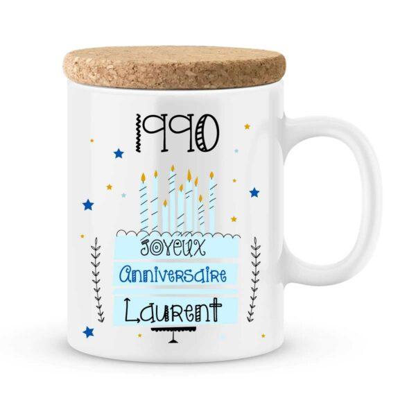 Cadeau anniversaire | Mug personnalisé pour un joyeux anniversaire