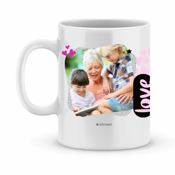 Cadeau mamie - Mug personnalisé mamie c'est la meilleure