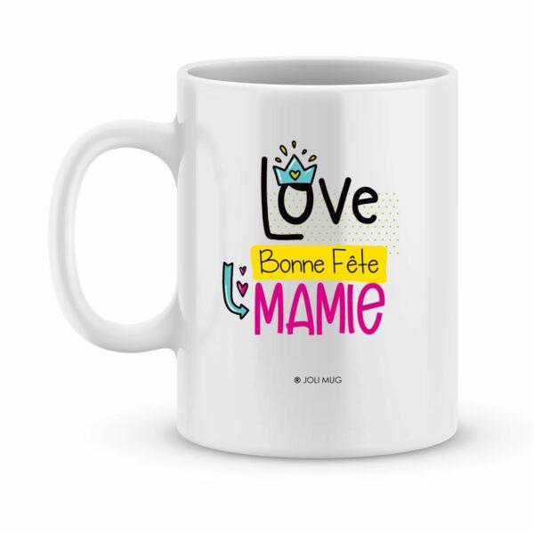 Cadeau fête des mamies - Mug personnalisé maman et mamie en mieux