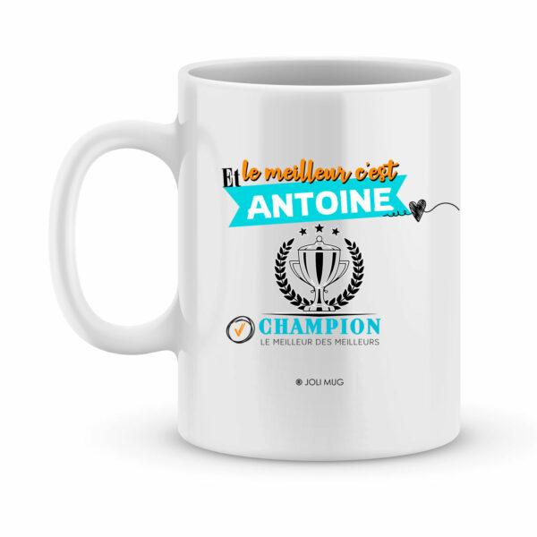Cadeau personnalisé - mug avec le métier et le prénom de votre choix