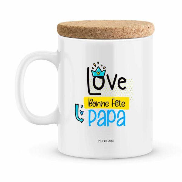Cadeau bonne fête papa | Mug personnalisé je ne suis pas parfait