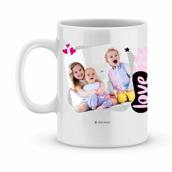Mug nounou avec photo. Mug nounou c'est la meilleure du monde